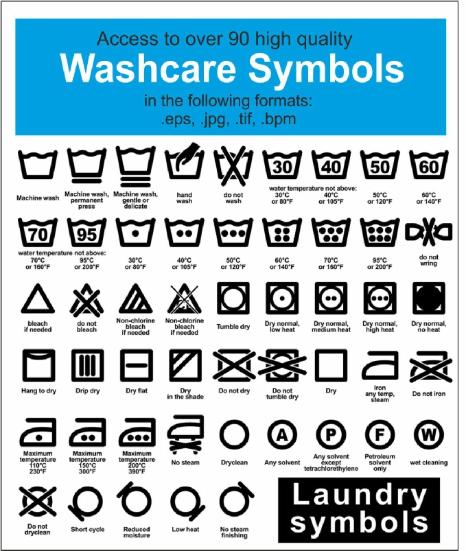 Washcare Label Printer